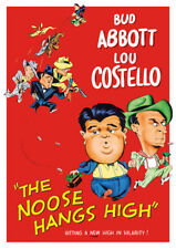 The Noose Hangs High (DVD) Bud Abbott and Lou Costello
