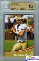 2011 Leaf Draft Limited Edition #5 Christian Ponder ROOKIE BGS 9.5 GEM MINT