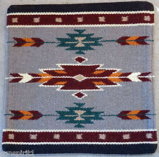 Wool Pillow Cover HIMAYPC-47 Hand Woven Southwest Southwestern 18X18