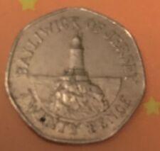 *RARE * 2009 LIGHTHOUSE of La CORBIERE Bailiwick of Jersey 20p/twenty pence coin