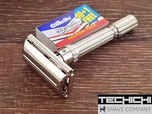Gillette Slim Adjustable Vintage DE Safety Razor - 1963 I1