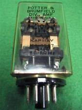 POTTER & BRUMFIELD KAP11AY KA-4557 RELAY 230V 8 PIN WESTINGHOUSE 350A980 G54DO