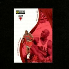 1997-98 Collectors Choice Basketball Michael Jordan Hot Properties Card #385