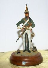 Soldat de plomb 90mm - Homme de troupe 12ème régiment de dragons 1813
