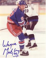 WAYNE GRETZKY - New York Rangers Autographed Signed 8x10 reprint Photo !!