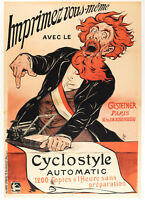 Original Vintage Poster - Eugene Ogé - Gestetner Printing Company - 1898