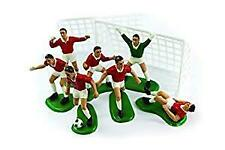 Red Footballers Cake Decoration Kit