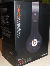 MONSTER BEATS WIRELESS BY DR DRE BLUETOOTH STEREO HEADPHONES BLACK 128876-00
