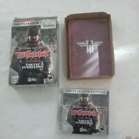 Return to Castle Wolfenstein Platinum Edition Enemy Territory PC Complete Box