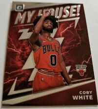 2019-20 Donruss Optic My House Base Coby White Rookie Insert Card #9