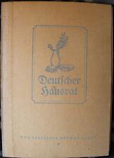 Deutscher Hausrat 24 Bildtafeln + Textheft ca. 1940 German household articles