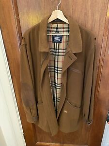 Burberry Winter Jacket Mens Size Large