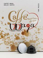 100 Capsule Caffè Waqa Intenso Compatibile Dolce Gusto Corposo Crema