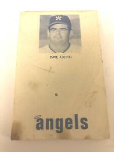 California Angels Note Pad 1969 Collectible