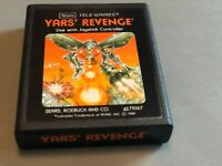 Atari 2600 Sears Tele-Games Yar's Revenge - Picture Label - Free Shipping!