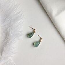 Cute Women Jewelry Accessories Retro Amber Ear Stud Simple Personality Earrings