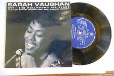 """SARAH VAUGHAN""""I CAN'T GET STARTED-disco 45 giri EP(4 brani) ARC UK 1962"""""""
