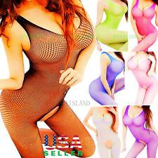 Mesh Big Fishnet Dress Bodystocking Body Stocking Bodysuit Nightwear Lingerie