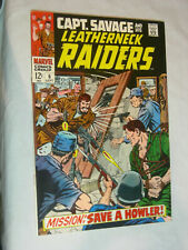 Capt. Savage and his Leatherneck Raiders #6 F/VF mission save a Howler