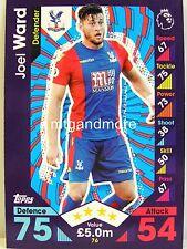 Match Attax 2016/17 Premier League - #076 Joel Ward - Crystal Palace