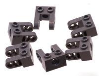 LEGO Technik - 6 x Lochstein 1x2 dunkelgrau Liftarm Erweiterung / 85943 NEUWARE