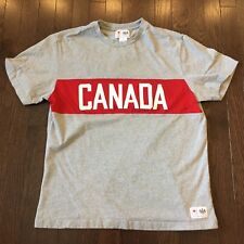 Canada Olympic Team Hudson's Bay Co. T Shirt Mens Size M