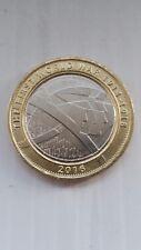 2016 aUNC UK LA PRIMA GUERRA MONDIALE 1914-1918 £ 2 due Pound Coin