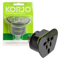 Korjo Power Tavel Plug Adapter Adaptor Charger-From Worldwide to Aus AU AUST&NZ
