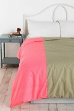Urban Outfitters Assembly Home Block Stripe Patchwork Queen Duvet Cover NEW