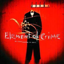 ELEMENT OF CRIME - AN EINEM SONNTAG IM APRIL  VINYL LP  ROCK & POP  NEUF