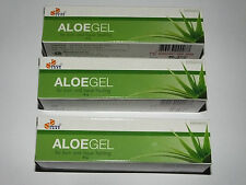 Aloe Vera Healing Gel For  Burns,Scars,Acne,Sunburn,Moisturizing  3 x 30g Tubes