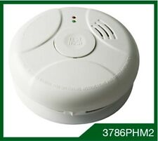 Omega Photoelectric 240v With 9V Battery Backup Exit Smoke Detector 3786PHM2