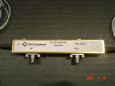JDSU 10020425 OC-192 Electro-optic Modulator 10 Gbs EOM Mach-Zehnder