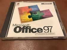 Microsoft Office 97 Upgrade Professional Edition SR-1 - CD-ROM w/ CD Key