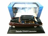 DAIMLER DS420 LIMOUSINE QUEEN MOTHER 1:43 NOREV DIECAST MODELL AUTO CAR