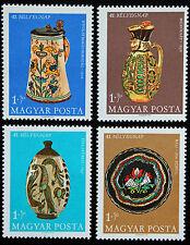 Timbre HONGRIE - Stamp HUNGARY Yvert et Tellier n°2001 à 2004 n** (Cyn14)