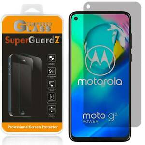 Privacy Anti-Spy Tempered Glass Screen Protector For Motorola Moto G Stylus 2020
