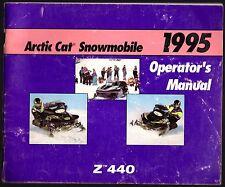 1995 ARCTIC CAT SNOWMOBILE Z 440 OPERATOR'S MANUAL P/N 2255-092  (418)