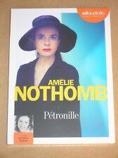 AUDIO LIVRE / AMELIE NOTHOMB / PETRONILLE / NEUF SOUS CELLO