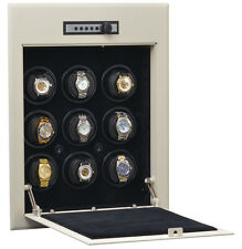 W21702 Orbita Wallsafe 9 Automatic Watch Winder Safe Cabinet Battery Operated