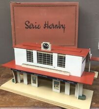 Gare démontable n°19 - MARSEILLE - Trains Hornby O - 1950's - TBE en boite