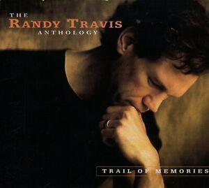 RANDY TRAVIS - Trail of Memories (The Anthology) - 2xCD Album *Digipak*