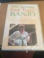 Absolute Beginners Irish Tenor Banjo DVD Learn to Play Method by Gerry O'Connor