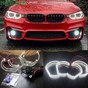 LED Angel Eyes DRL Crystal Acrylic DTM car styling For BMW 3 Series F30 F31 F34