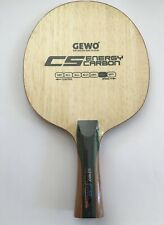 Gewo CS Energy Carbon  Off table tennis blade, FL handle