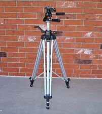 Heavy Solid Sturdy Bogen Professional Tripod Model #3040. Made in Italy