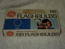GE 6B FLASHBULBS Qty 10