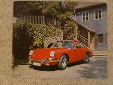 1965 Porsche Type 901 / 911 Coupe Showroom Advertising Poster RARE Awesome L@@K