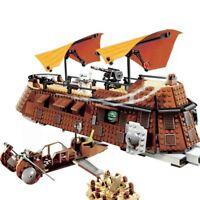 Star wars Jabba's Sail Barge Return Jedi Movie Series Building Blocks