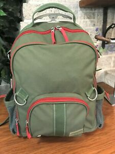 POTTERY BARN KIDS ROLLING WHEELED  BACKPACK BOOK BAG TRAVEL SUITCASE CARRY ON